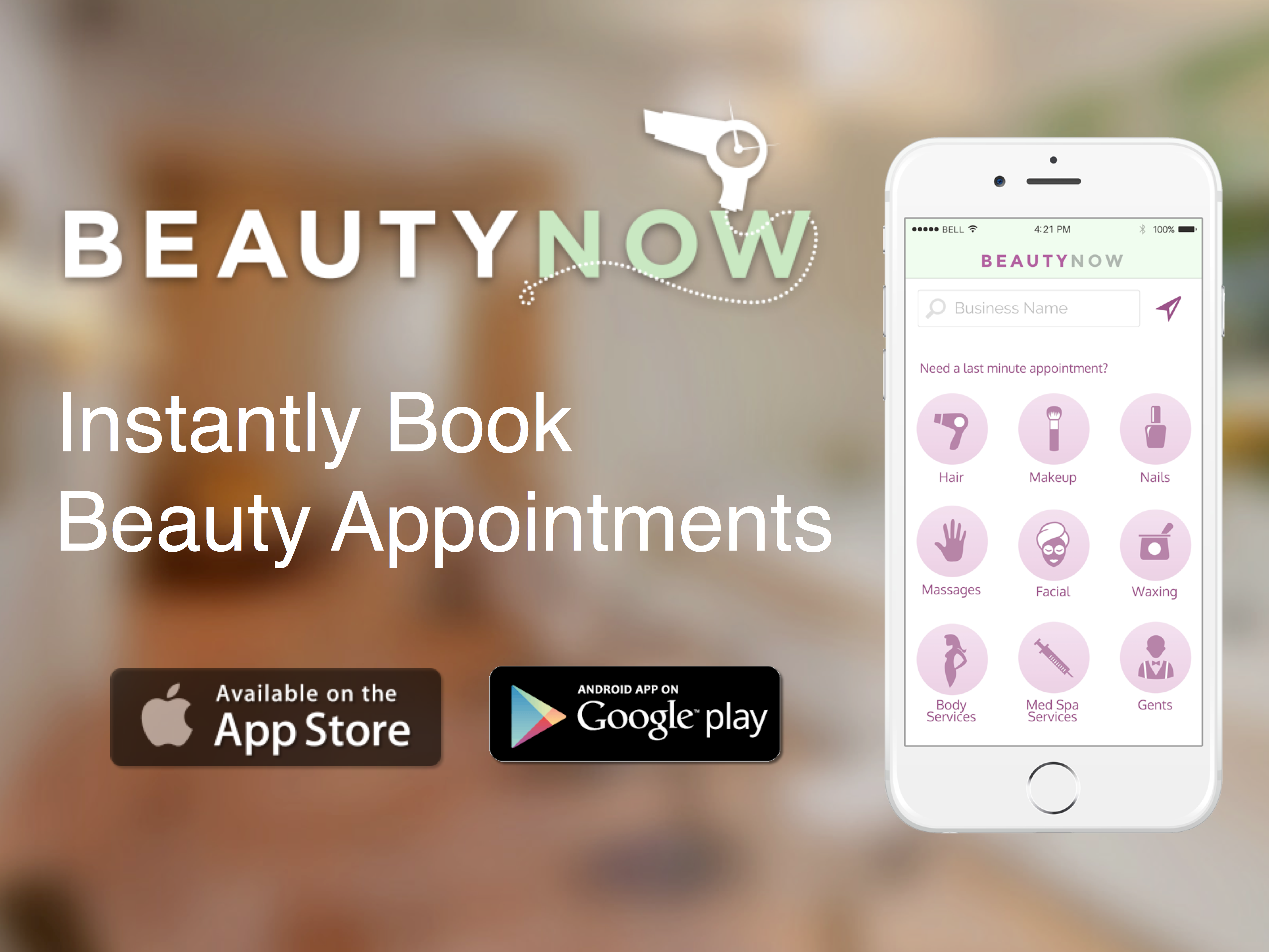 BeautyNow - Instantly Book Beauty Appointments