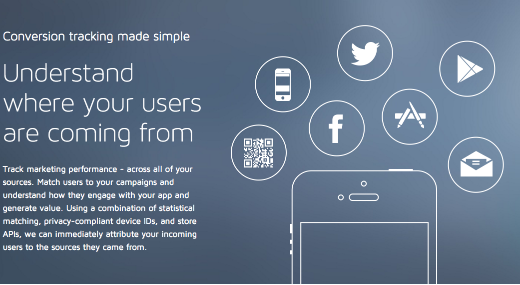 Attribution analytics for mobile