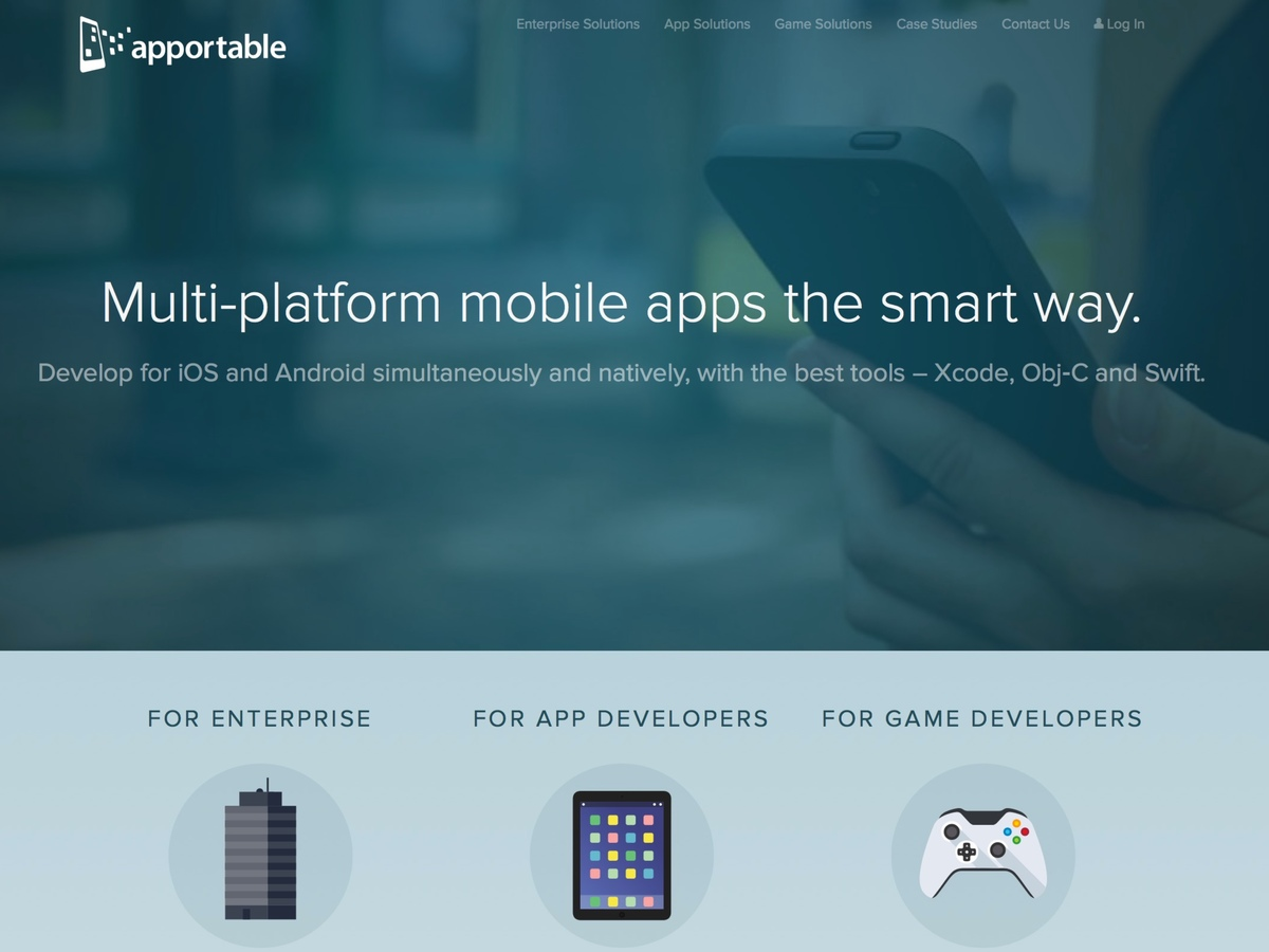 Apportable - Multi-platform mobile apps - the smart way