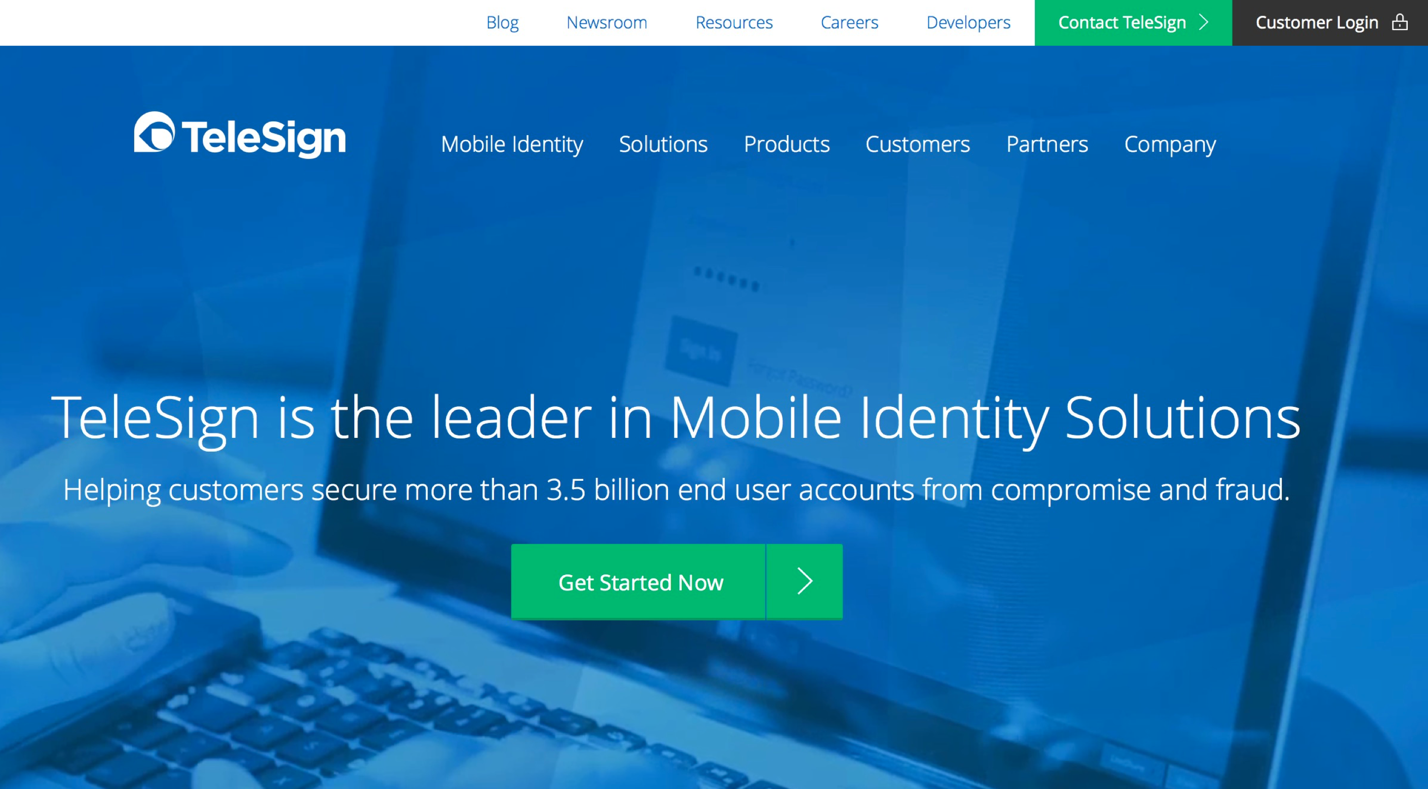 TeleSign - Mobile Identity Solutions