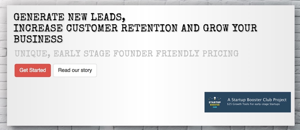 Customer Lead Generation and Retention platform