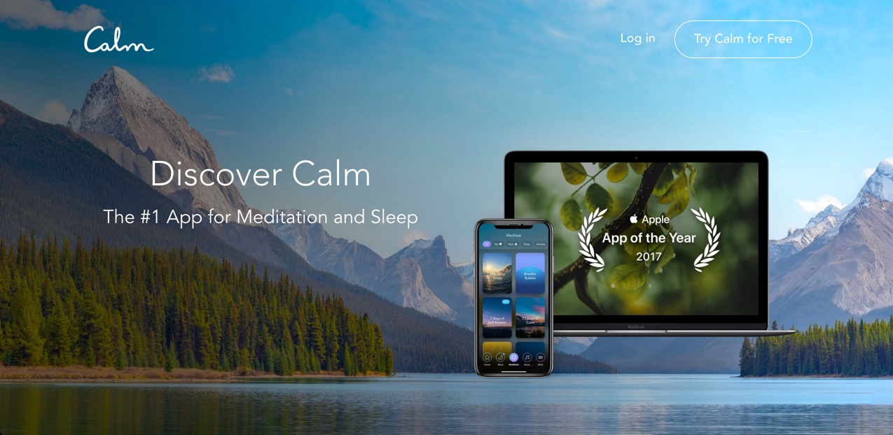 Calm - Meditation Techniques for Sleep and Stress Reduction